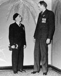 Photograph of John Bruce and Billy Nevard taken in 1941